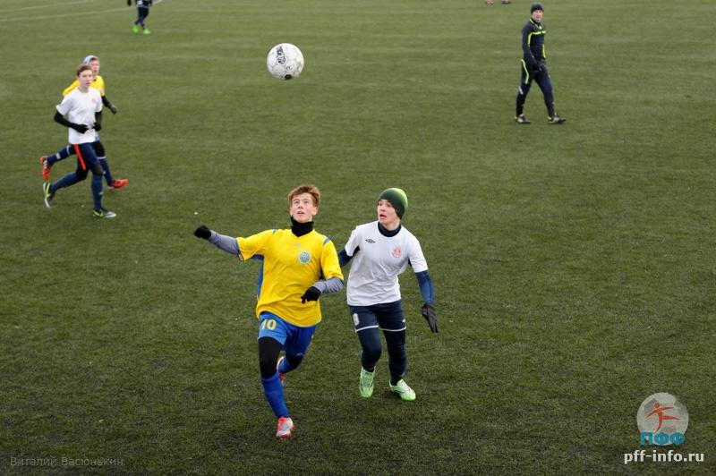 Прошёл первый футбольный турнир в новом году